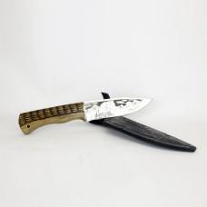 Нож Медведь (резной) Кизляр