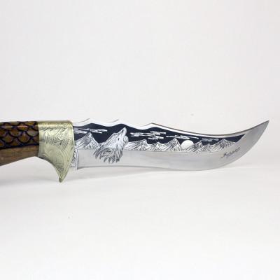 Нож Атаман (гардовый, резной) Кизляр