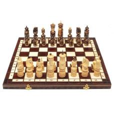 Шахматы резные Ледовая битва большие