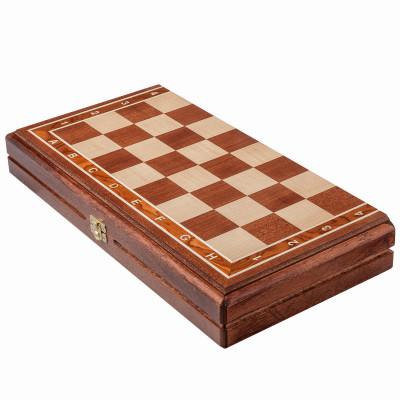 Шахматная доска складная Турнирная махагон 4