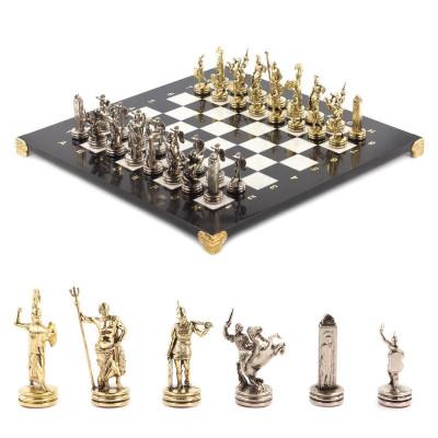 Шахматы Греческая Мифология 36х36 cм мрамор металл