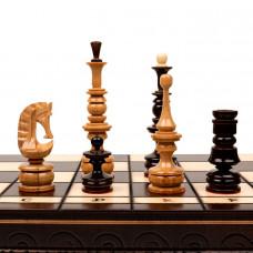 Шахматы резные Клен презент