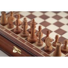 Шахматы ларец Этюд махагон средние