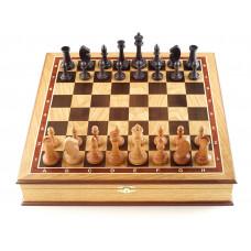 Шахматы ларец Этюд дуб большие