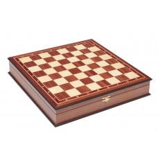 Шахматный ларец без фигур Махагон 4