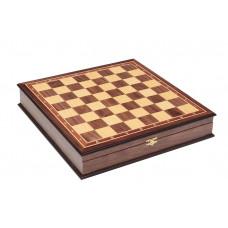 Шахматный ларец  без фигур орех 4