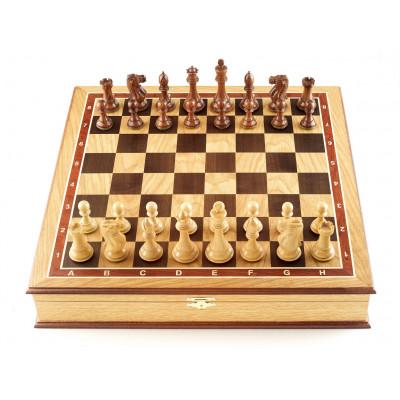 Шахматы ларец Эндшпиль дуб большие