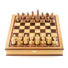 Шахматы ларец Дебют дуб большие