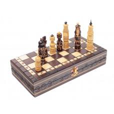Шахматы резные Ледовая битва