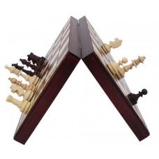 Шахматы Магнит деревянные