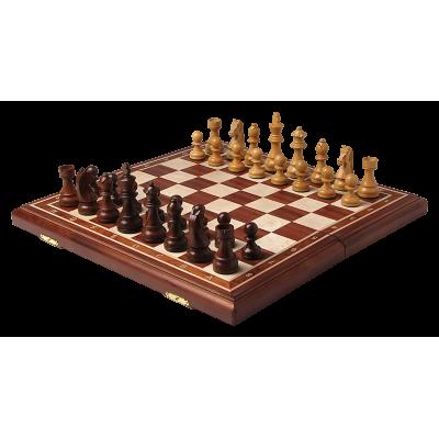 Шахматы Дебют махагон средние