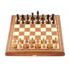 Шахматы Этюд махагон малые