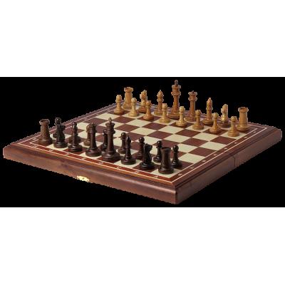 Шахматы турнирные махагон Стаунтон 4.5