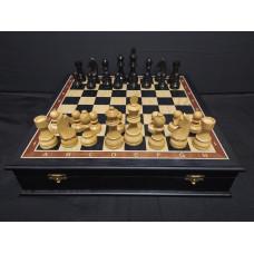Шахматы в ларце Дебют моренный дуб средние