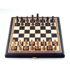 Шахматы Этюд мореный дуб средние