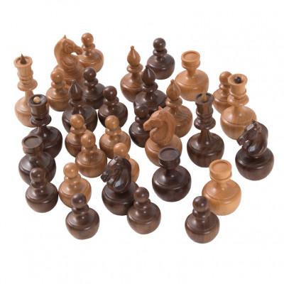 Шахматные фигуры Неваляшки махагон