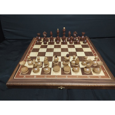 Шахматы Государские складные орех