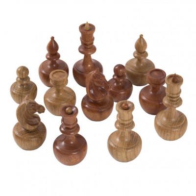 Шахматные фигуры Неваляшки орех