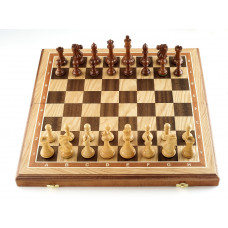 Шахматы Эндшпиль дуб большие