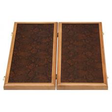 Нарда кожаные Питон коричневые малые