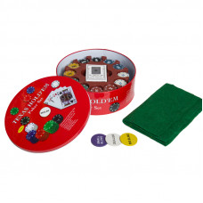 Набор для покера Holdem Light на 240 фишек без номинала