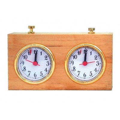 Шахматные часы Классика деревянные