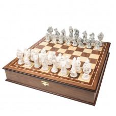 Шахматы эксклюзивные Русские Сказки орех