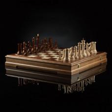 """Шахматы """"Стаунтон Фаворит"""" (тёмная доска)"""