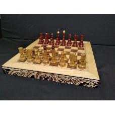 Шахматы резные Герб средние