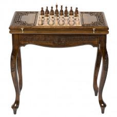 Стол ломберный Нарды + Шахматы, Haleyan