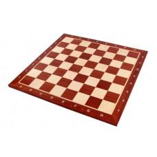 Шахматная доска нескладная Махагон 4 Мадон