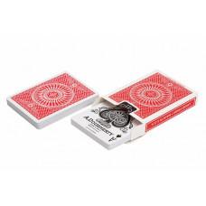 "Игральные карты ""Tally Ho Circle"" (красная рубашка) 54 листа"