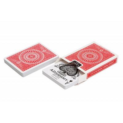 Игральные карты Tally-Ho Circle, красная рубашка