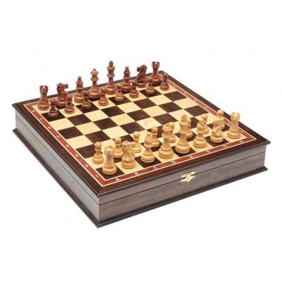 Шахматы ларец Эндшпиль Венге большие