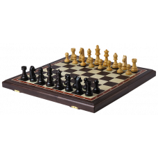 Шахматы Дебют люкс венге средние
