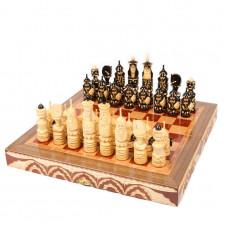 Шахматы резные Солдаты