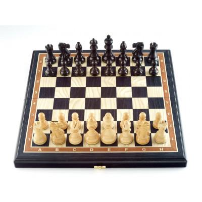 Шахматы Гамбит мореный дуб средние