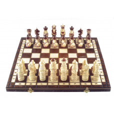 Шахматы резные Воины