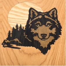 Нарды авторские Волк дуб