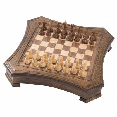 Шахматы Восьмиугольные ручной работы, 50