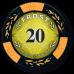 Набор для покера Frost на 500 фишек