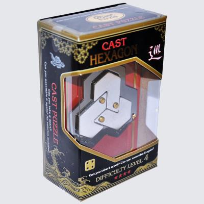 Головоломка Шестиугольник****/ Cast Puzzle Hexgon****