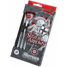 Дротики Harrows Silver Arrows steeltip 24gr (начальный уровень)
