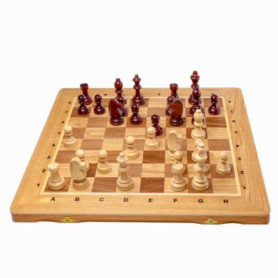 Шахматы + нарды Элит дуб, Мадон
