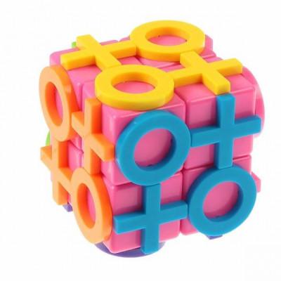 """Головоломка Кубик""""Крестики нолики"""" 5,5*5,5 см"""