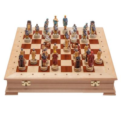 Шахматы Древний Рим И Греция Стаунтон Береза 4