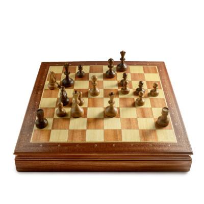 Шахматы Ларец Староднорянские Махагон