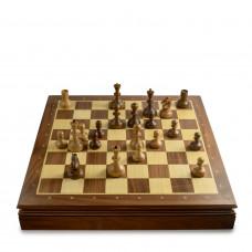 Шахматы Ларец Стародворянские Орех