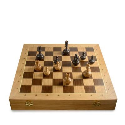 Шахматный Ларец Вуд Чесс Дуб