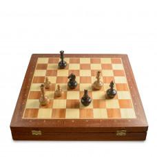 Шахматный Ларец Вуд Чесс Махагон